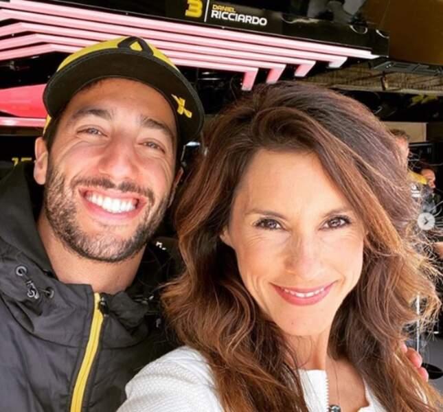 Daniel Ricciardo aurait-il supplanté Romain Grosjean dans le cœur de la journaliste d'Automoto ? Rassurez-vous, ce n'est que pour le boulot !