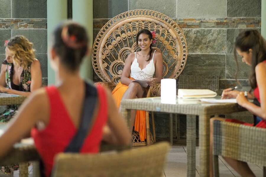 Les jeunes femmes ont pu compter sur le soutien de Vaimalama Chaves et ses précieux conseils