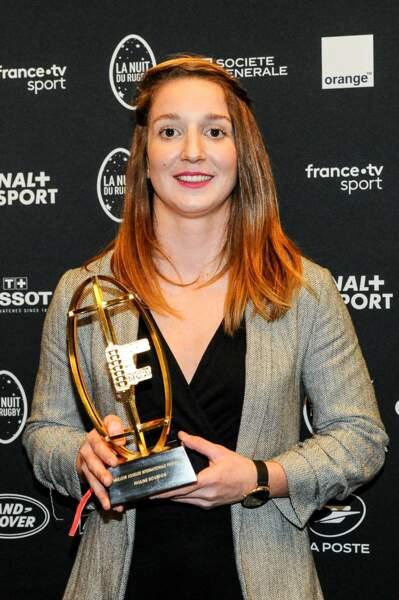 Pauline Bourdon est élue meilleure internationale française !