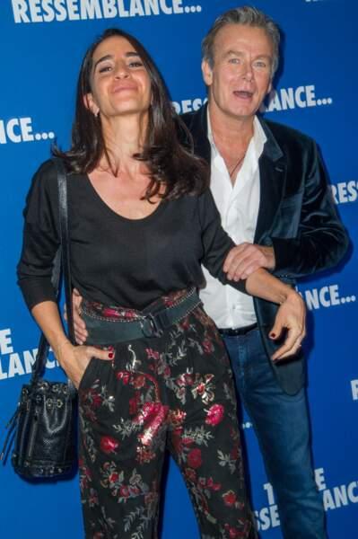 Franck Dubosc et sa femme Danièle Dubosc
