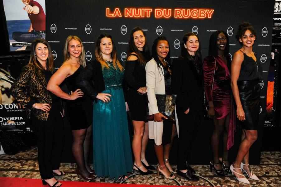 Les joueuses de l'équipe de France féminine sont magnifiques sur le tapis rouge !