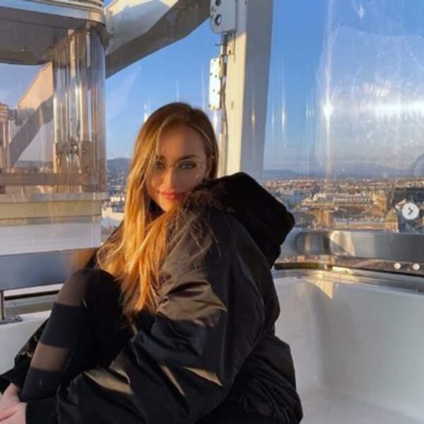 Ou qu'Emma Smet dans le ciel de Budapest.