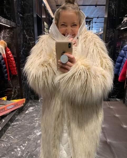 Point mode : Kate Hudson est prête pour l'hiver.