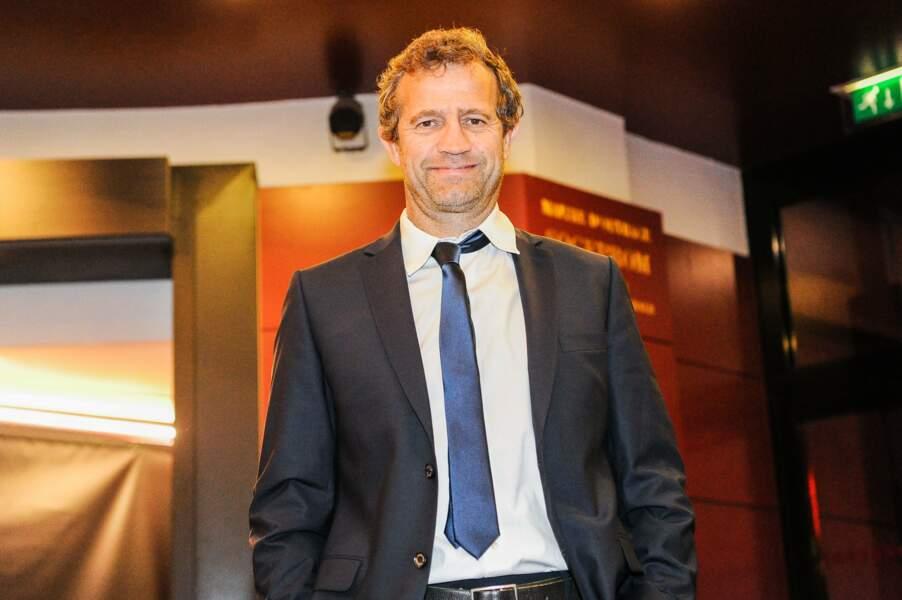 Fabien Galthié, nouvel entraineur du XV de France, était de la partie