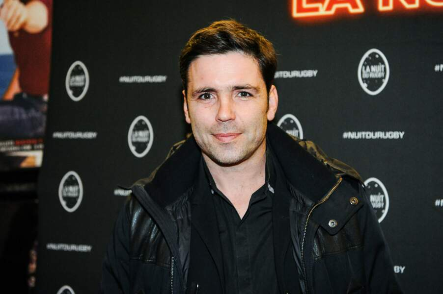 Dimitri Yachvili, ancien international et nouveau consultant France Télévision était lui aussi à l'Olympia