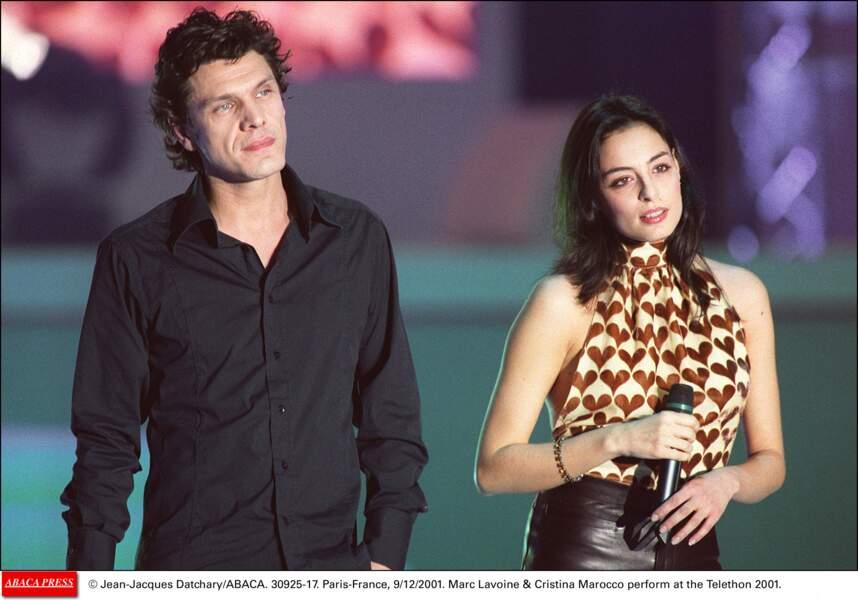 2001, en duo avec Cristina Marocco