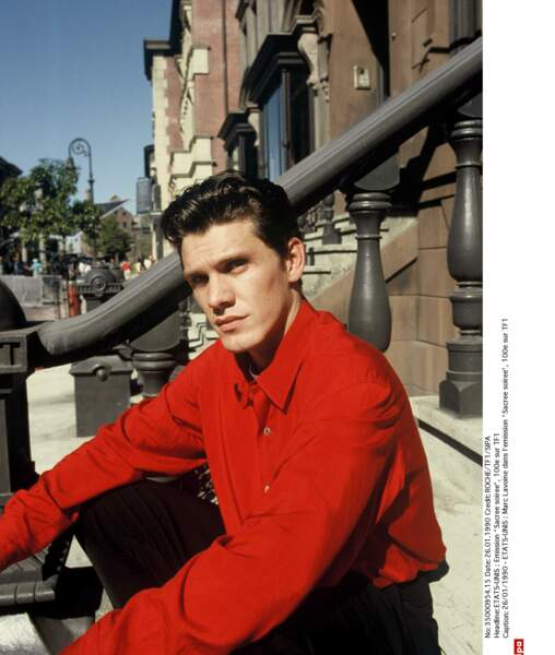 1990, un physique d'acteur...
