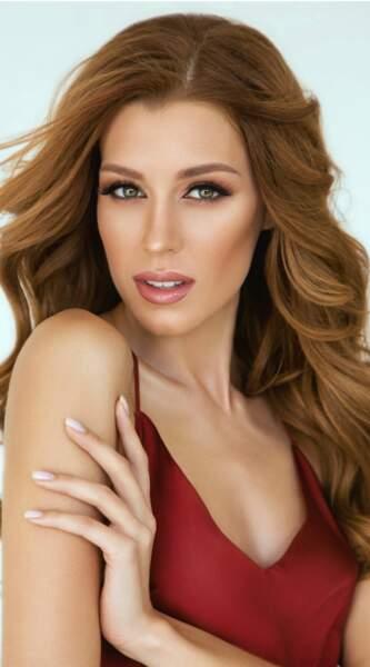 Miss Ukraine : Anastasiia Subbota