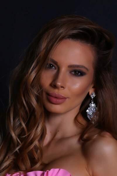 Miss Bulgarie : Lora Asenova