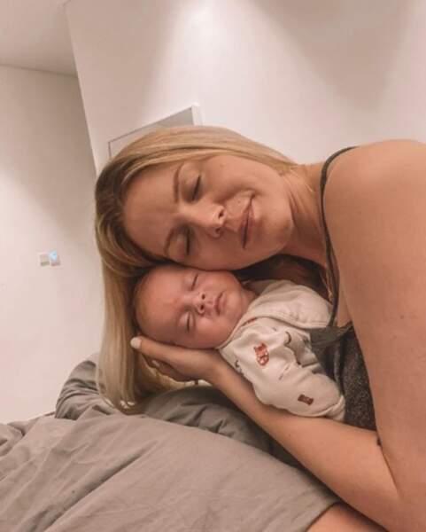 Et le petit Maylone ressemble énormément à sa maman, non ?