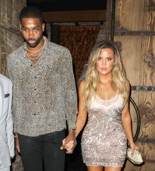 Début février : Khloe Kardashian décide de mettre un terme à son histoire avec le père de sa fille, Tristan Thompson