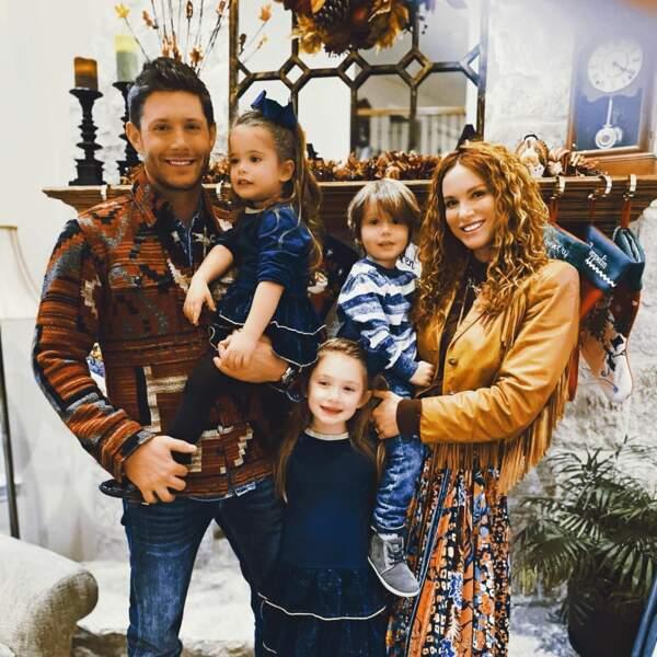 Jensen Ackles (Supernatural) et sa petite famille