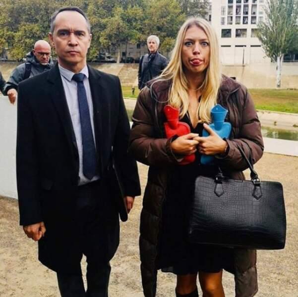 Manuel Blanc et Aurore Delplace enregistrent les nouveaux épisodes d'Un si grand soleil