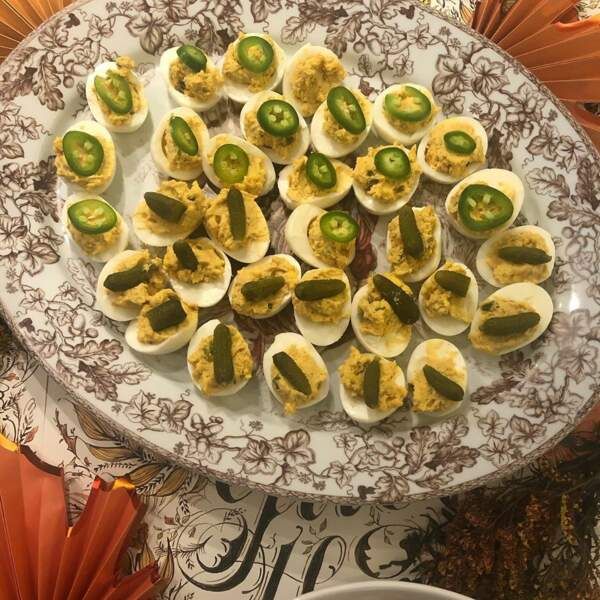 Voulez-vous goûter aux œufs de Thanksgiving de Jennifer Love-Hewitt ?