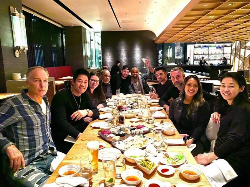 Quant à Shemar Moore, il a fêté Thanksgiving au Japon !