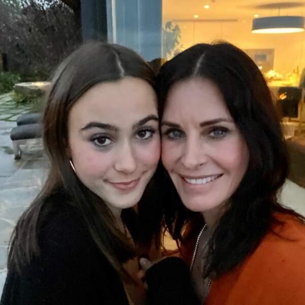 Courteney Cox consacre ses remerciements de Thanksgiving à sa fille Coco