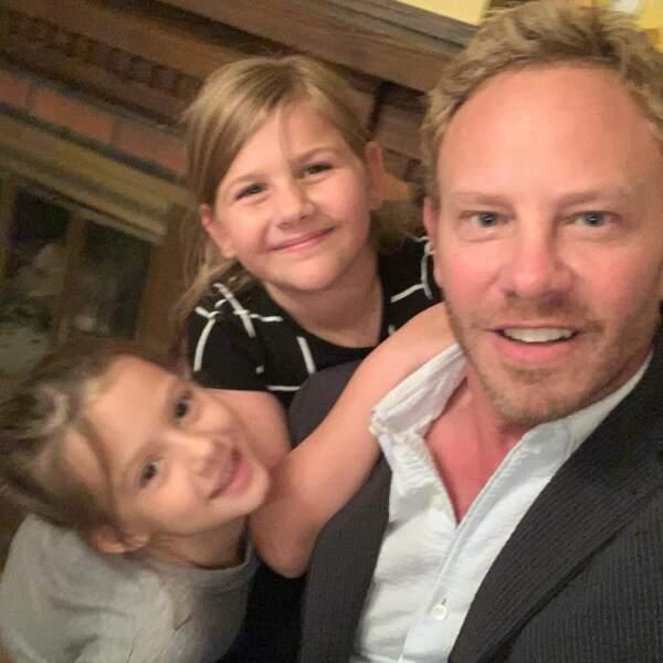 Ian Ziering à ses enfants aussi !