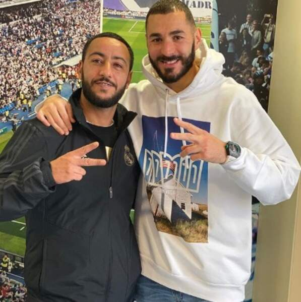 Deux Karim pour le prix d'un : le rappeur Lacrim et le footeux Karim Benzema.