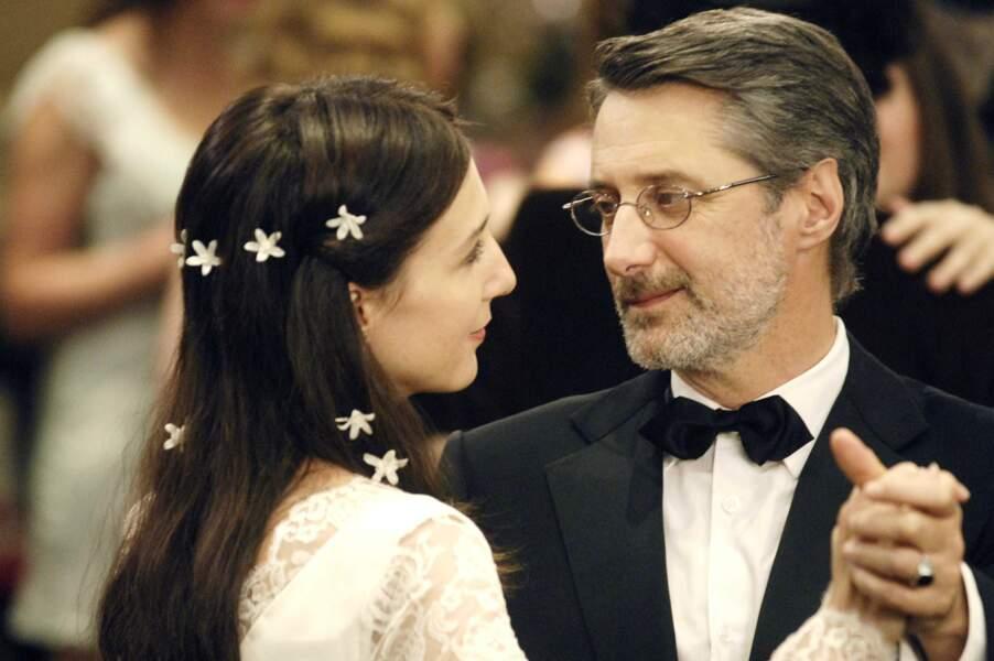 """Le couple s'est reformé à l'écran en 2009 pour """"La Folle histoire d'amour de Simon Eskenazy"""""""