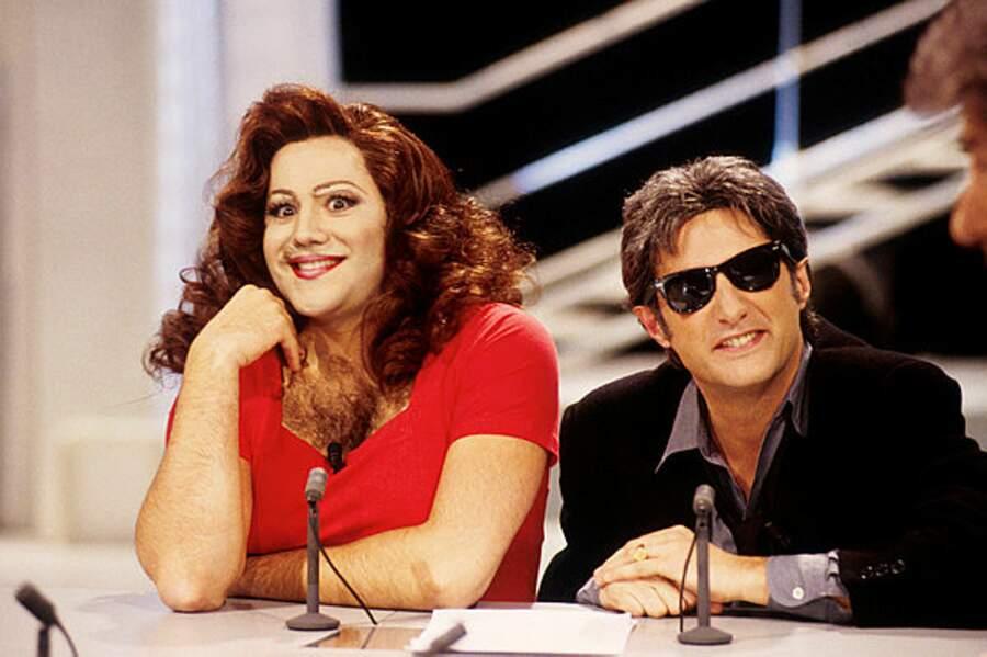 Quand il incarnait Richard Jouire, il était toujours accompagné de Sandrine Troforte