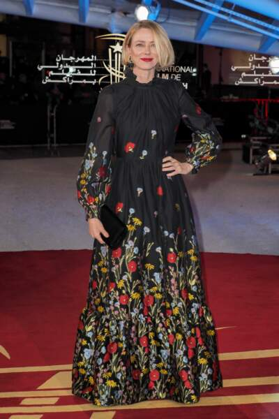 Sur le tapis rouge, on a ainsi vu Naomi Watts