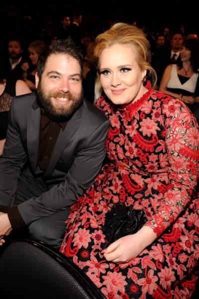 """""""En avril ne te découvre pas d'un fil"""" : si la chanteuse Adele et son compagnon Simon Konecki, co-fondateur de Life Water, respectent le dicton, en revanche, le couple n'est plus au diapason... et se sépare au printemps"""