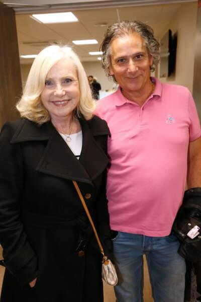 Une semaine plus tard, c'est au tour de la chanteuse Michèle Torr : elle annonce sa séparation d'avec son compagnon Jean-Pierre Murzilli