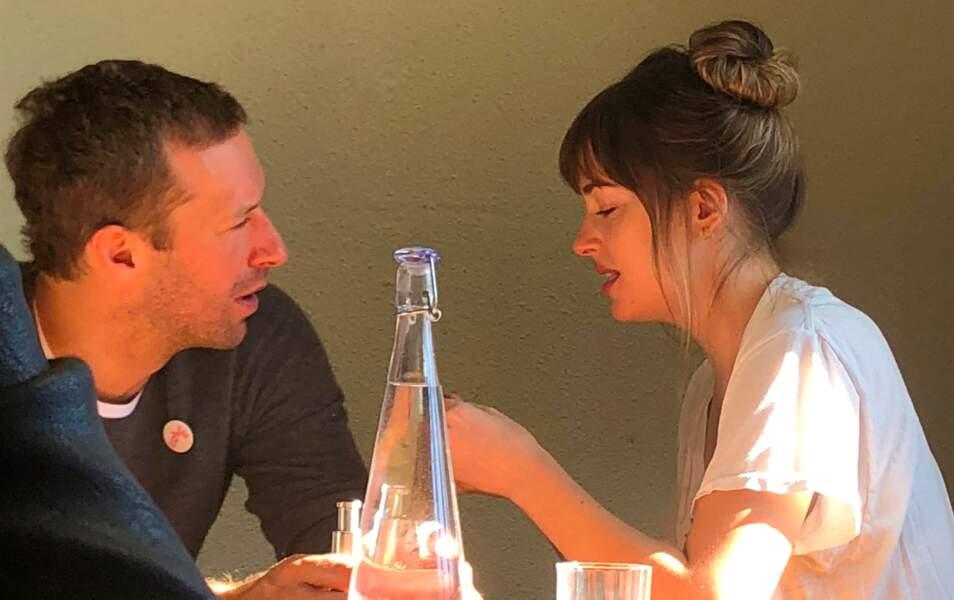 Mi juin, Chris Martin et Dakota Johnson se séparent après deux ans de relation