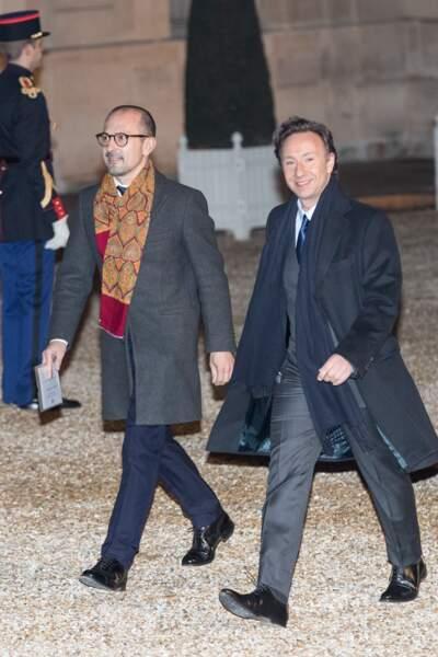 Désormais Stéphane Bern et son compagnon Lionel Bounoua ne marcheront plus ensemble