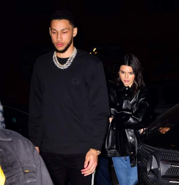 22 mai : Le mannequin Kendall Jenner se sépare du basketteur Ben Simmons