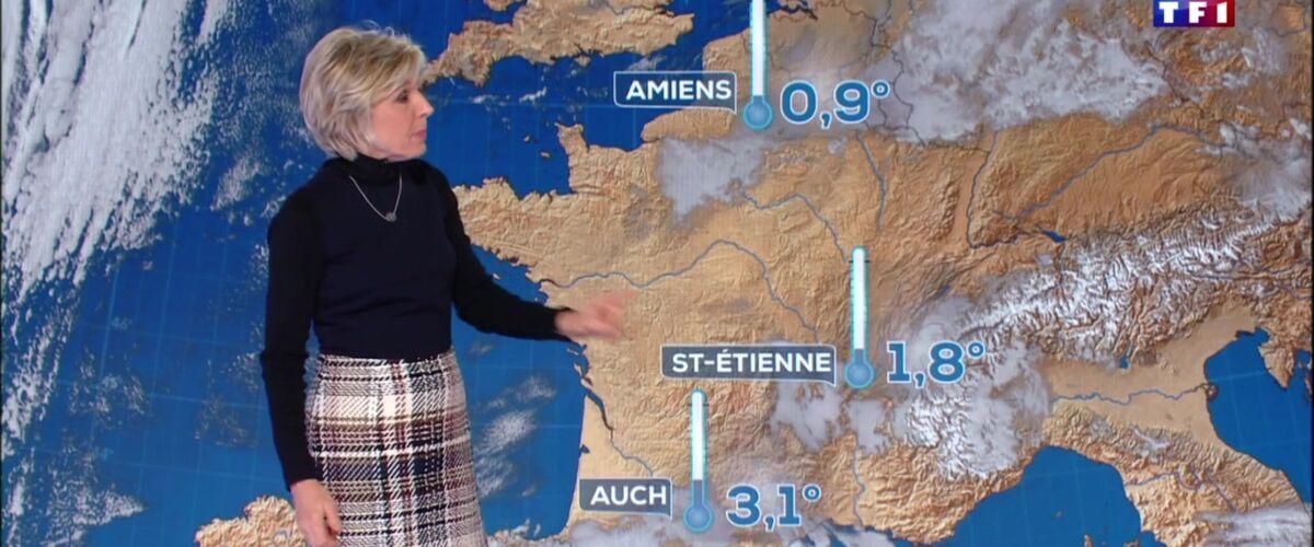 Pour la première fois, Saint-Etienne apparaît sur la carte météo du 20 heures de TF1 ! - Télé Loisirs.fr