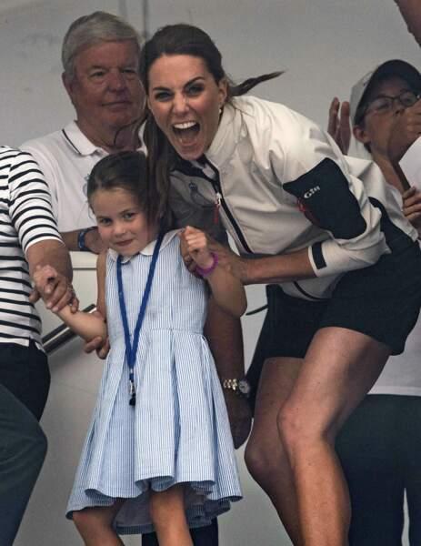 Une vraie lionne cette Kate Middleton quand il s'agit de protéger Charlotte