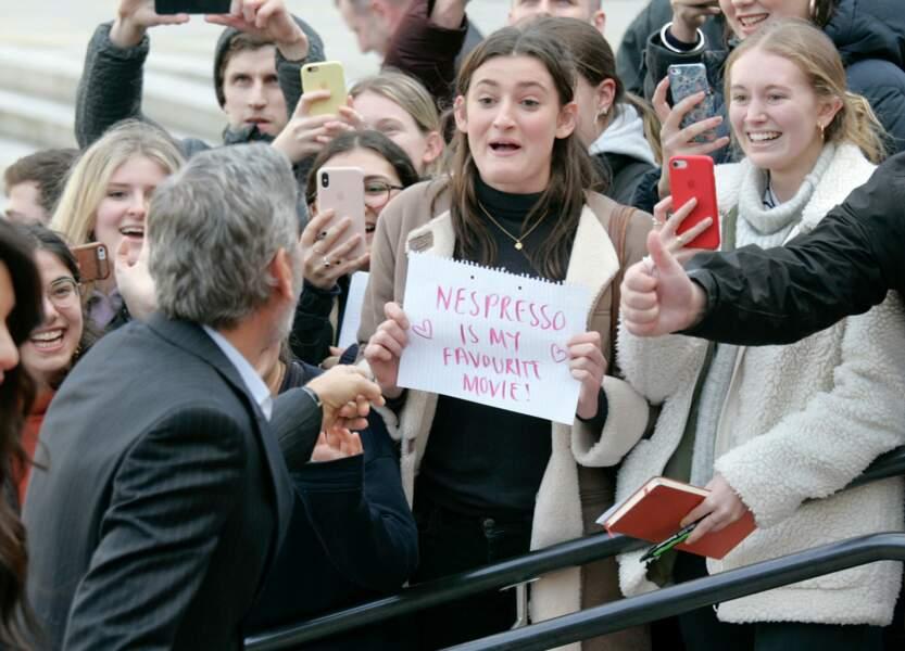 Pas de pause café pour George Clooney