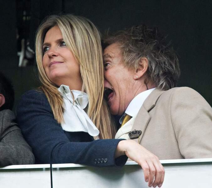 Quand Rod Stewart joue a cache cache avec sa femme Penny