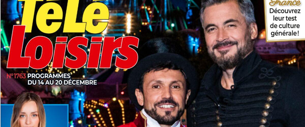 À la Une de Télé-Loisirs : Willy Rovelli et Olivier Minne vous disent tout sur LE jeu télé à ne surtout pas rater ce Noël !