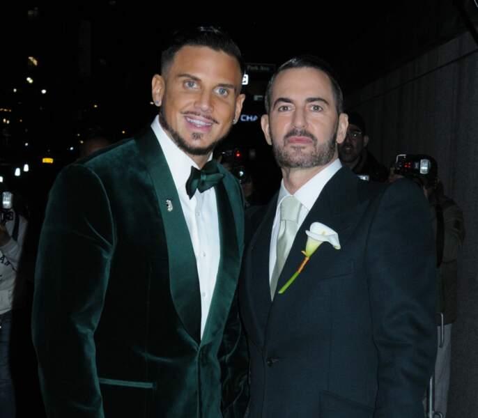 Le célèbre couturier américain Marc Jacobs a épousé son compagnon Char Defrancesco en avril à New York