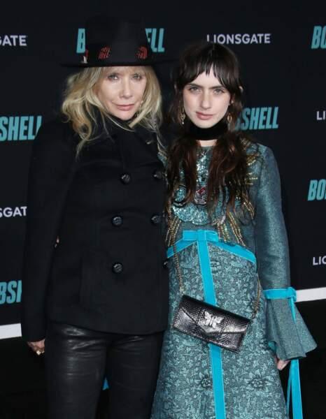 Rosanna Arquette et sa fille Zoe Bleu Sidel