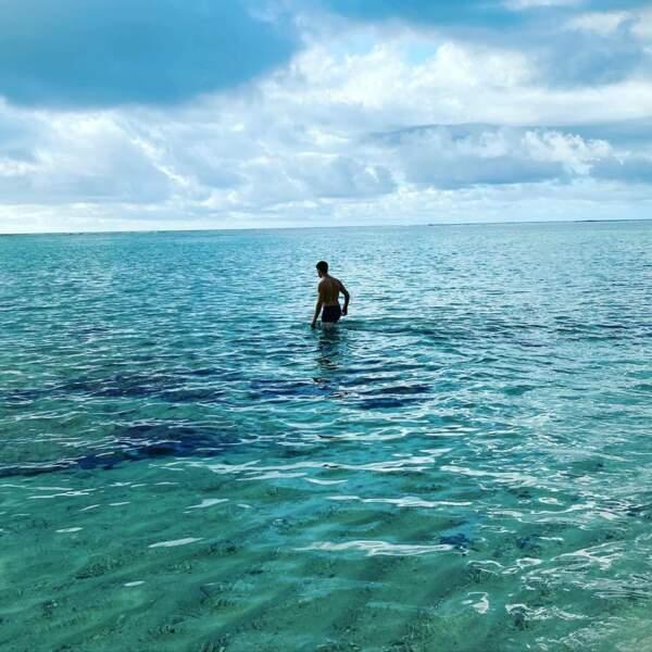 Entre les baignades, le paddle...