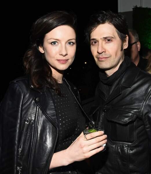 """Caitriona Balfe, l'héroïne d'""""Outlander"""", s'est mariée avec le producteur (musical) Tony McGill le 10 août."""