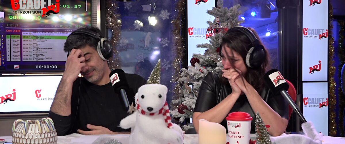 Cauet : son équipe en larmes sur NRJ face à la bouleversante demande d'une fillette au Père Noël (VIDEO)