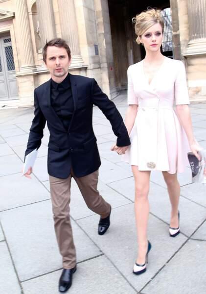 Matthew Bellamy et Elle Evans se sont mariés le 10 aout à Los Angeles
