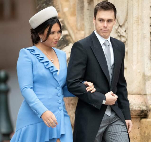 Louis Ducruet a épousé Marie Chevallier fin juillet à Monaco