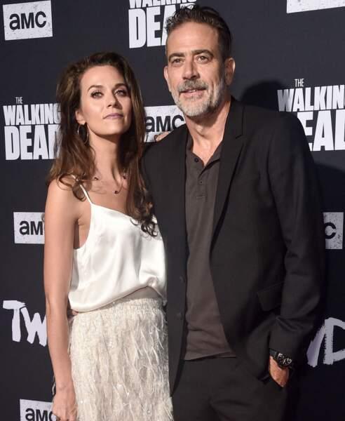 """Est-ce un crossover: Jeffrey Morgan de """"Walking dead"""" s'est marié avec Hilarie Burton (""""L'arme fatale"""") le 5 octobre"""