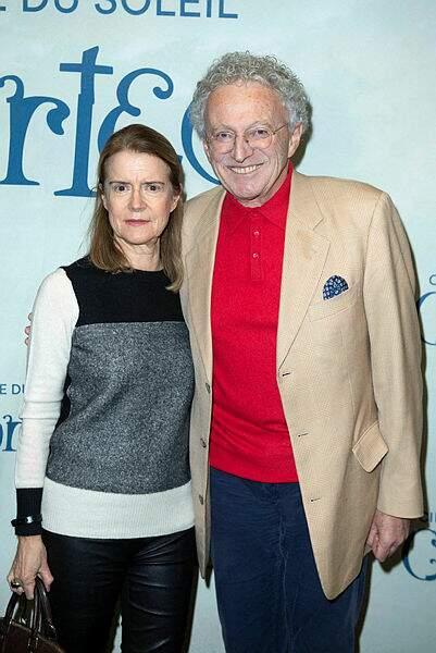 Nelson Monfort et son épouse Dominique Monfort
