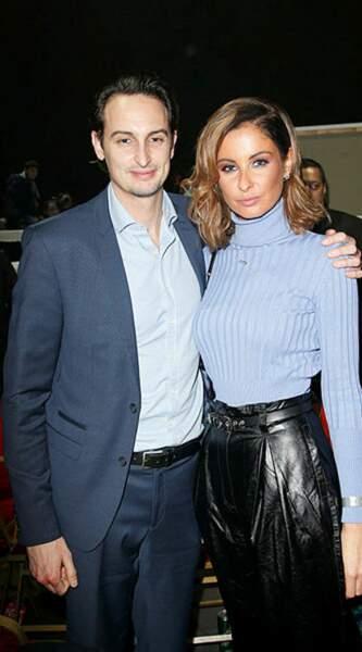 Miss France 2010 était accompagnée de son frère Raphaël pour l'occasion