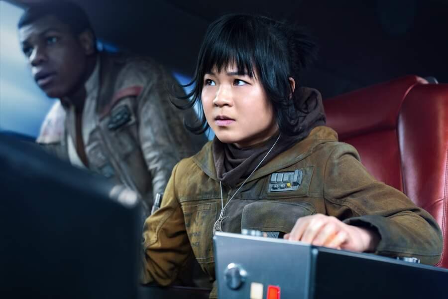 Kelly Marie Tran campe Rose, la rebelle au grand coeur dans Les Derniers Jedi