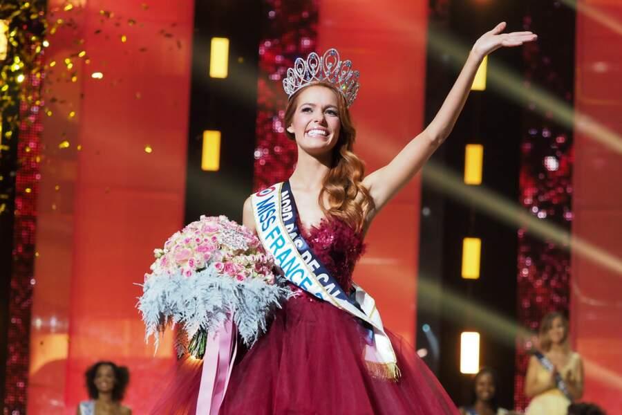 Miss France 2018 : Maeva Coucke (Miss Nord-Pas-de-Calais)