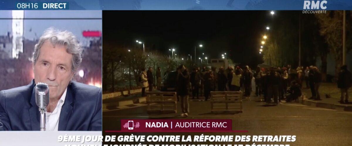 L'énorme coup de gueule contre les grévistes de Nadia, auditrice de Jean-Jacques Bourdin, fait un gros buzz (V