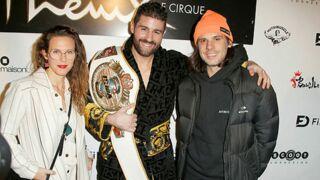 Malika Ménard en famille, Lorie radieuse aux côtés d'Orelsan... les people de sortie pour le championnat du monde de Kickboxing (PHOTOS)