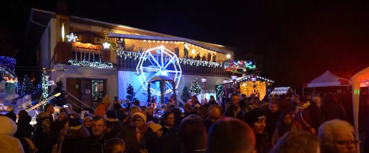 Exclu. Le Noël extraordinaire des Français (6Ter) : pour Noël, ces Strasbourgeois transforment leur maison en
